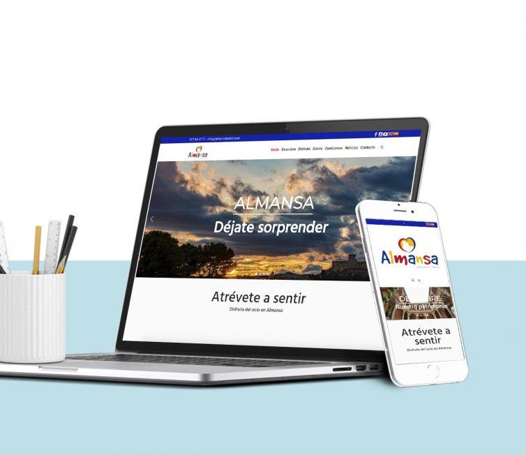 Almansa Turística (Web corporativa)